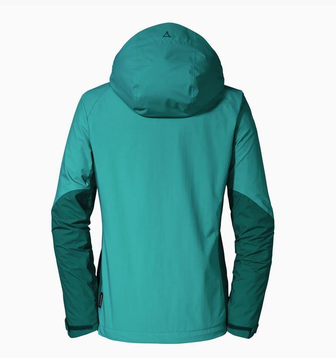 Schöffel Damen ZipIn! Jacket Skopje3 12581 grün