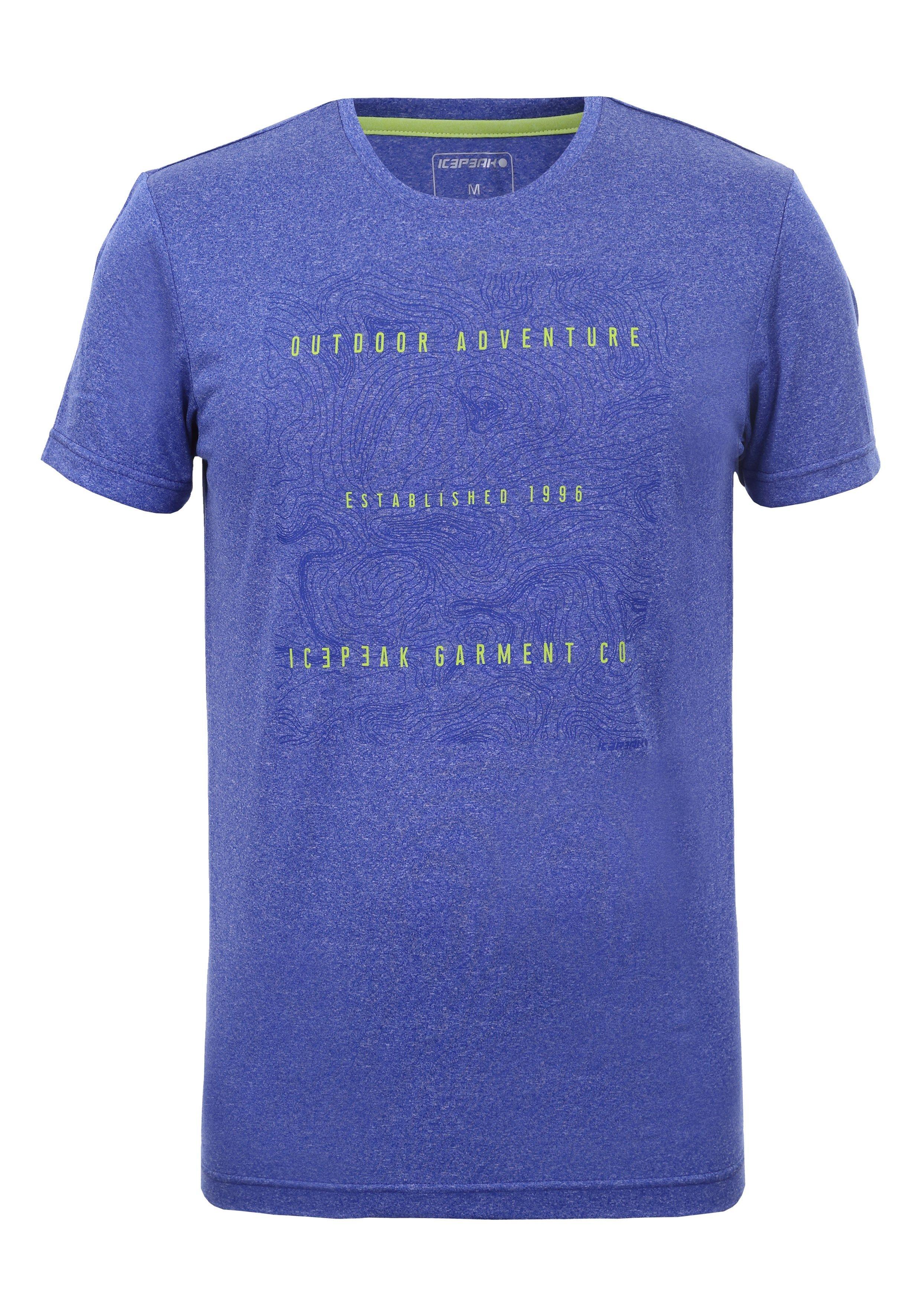 Icepeak Herren T-Shirt BANCROFT 557754 blau