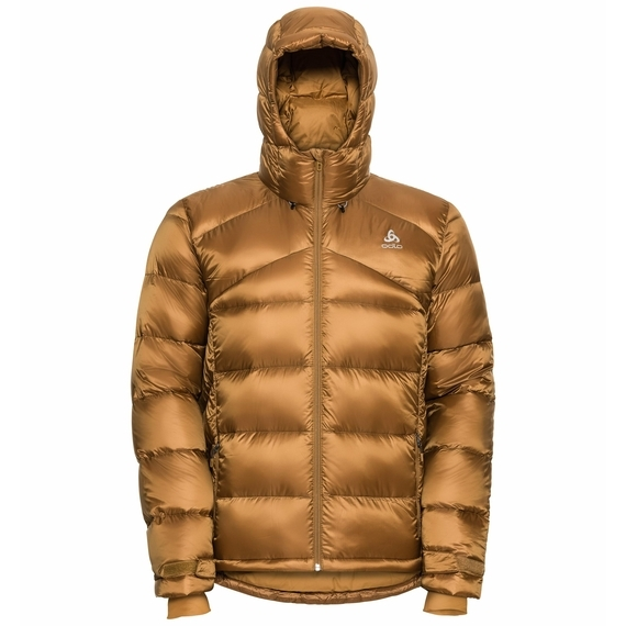 Odlo Herren Gefütterte COCOON N-THERMIC X- WARM Jacke 528572 golden-brown
