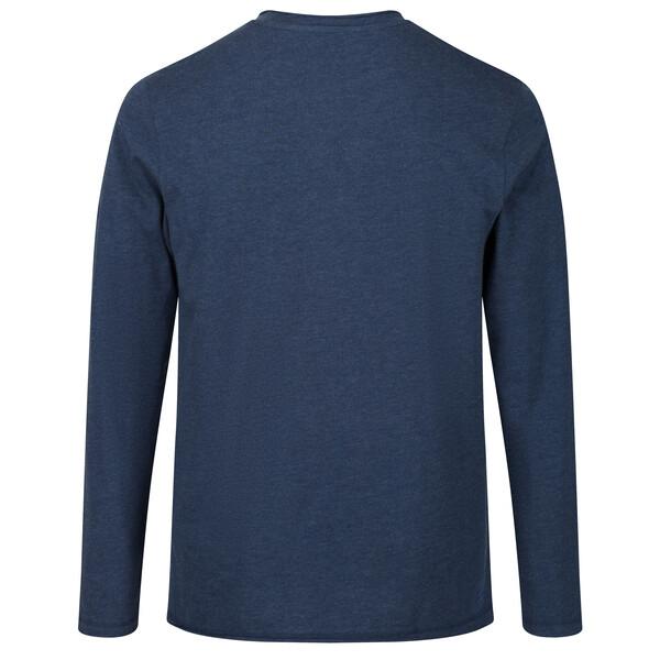 Regatta Herren KARTER II Langarm Shirt RMT219 dark denim