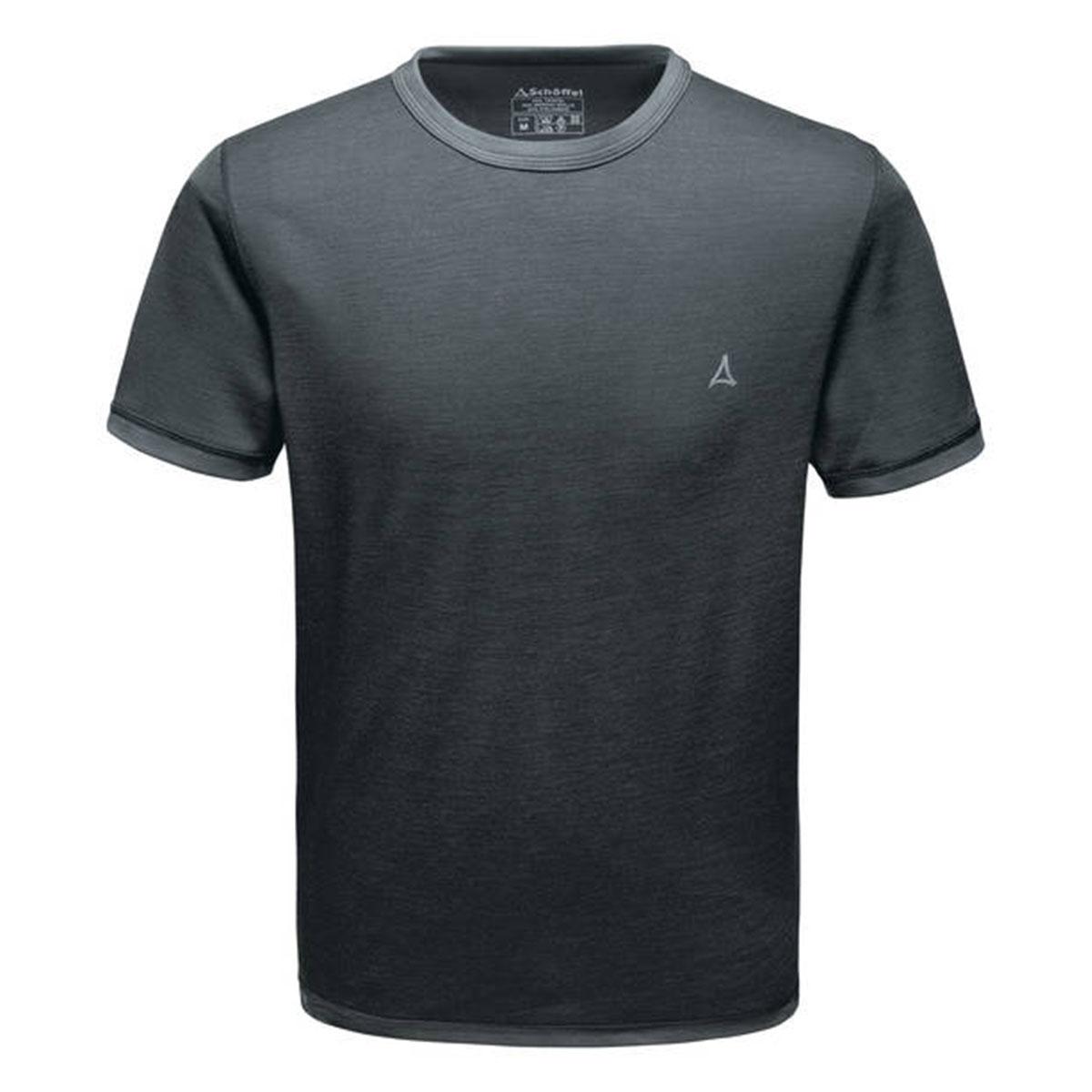 Schöffel Merino Sport Shirt Herren 1/2 Arm anthrazit