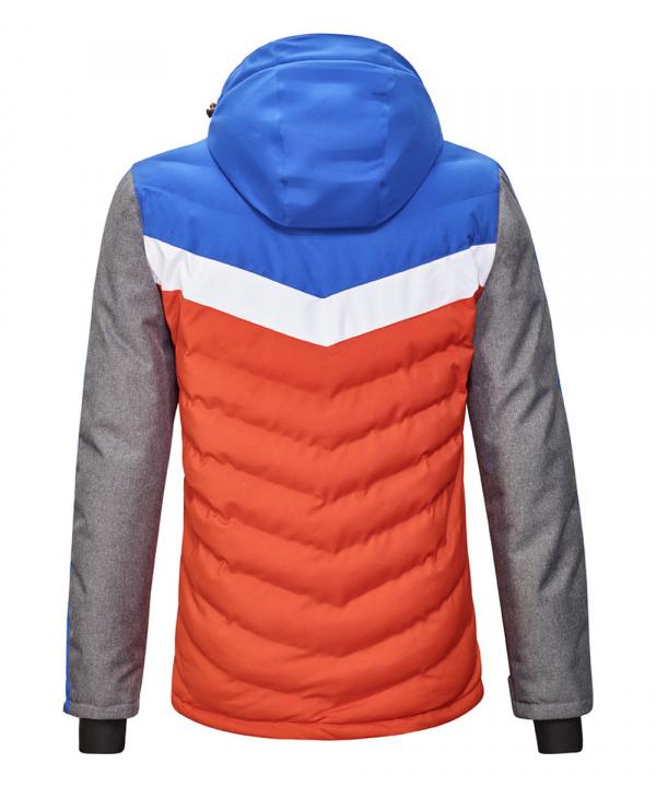 Killtec Herren Tirano Hybridjacke mit abzippbarer Kapuze und Schneefang 35591 orange