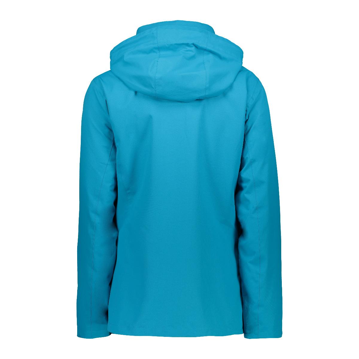 CMP Damen Dopple Zip Hood mit Innenjacke 30Z1426D blau