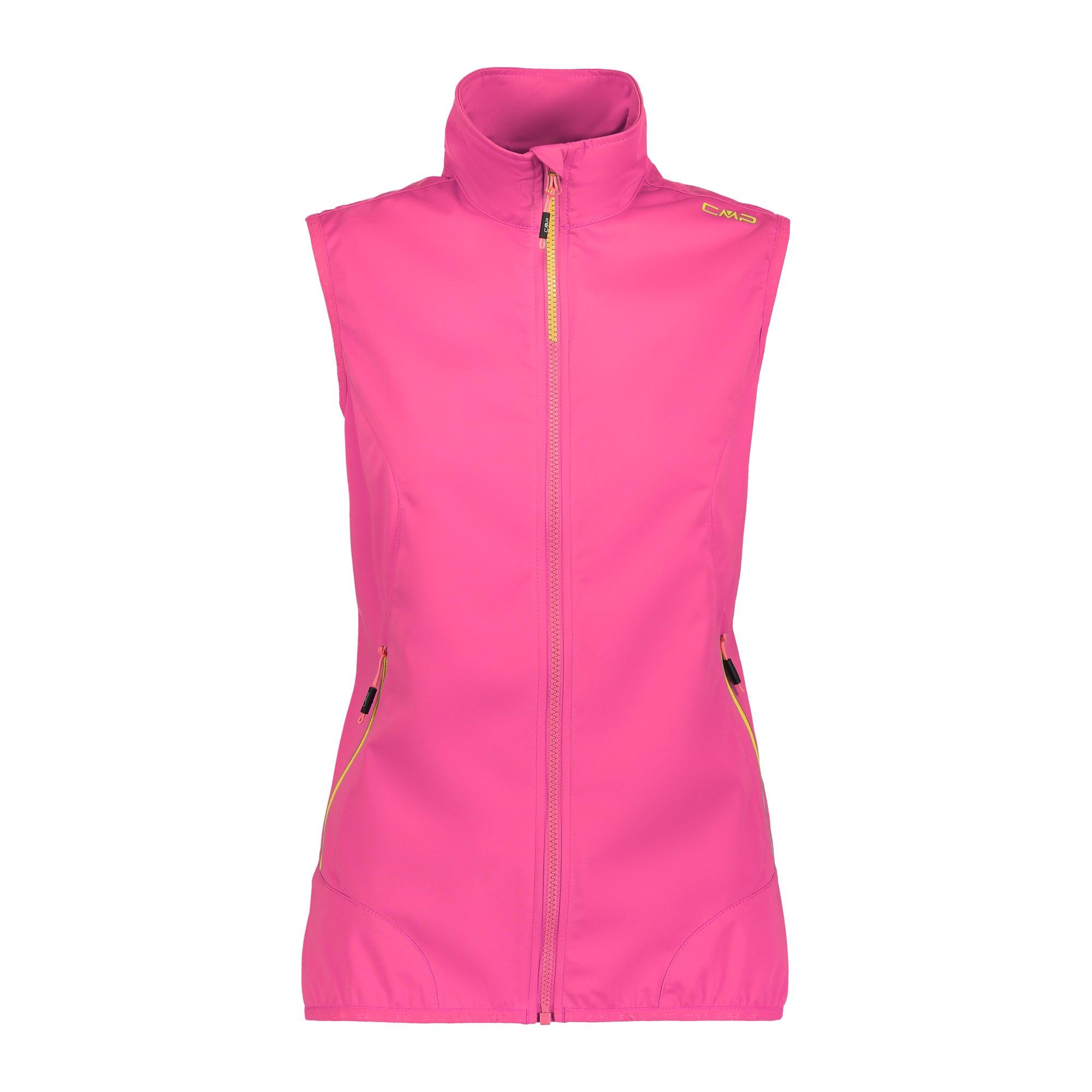 CMP Damen Weste mit Stehkragen 30A9736 pink