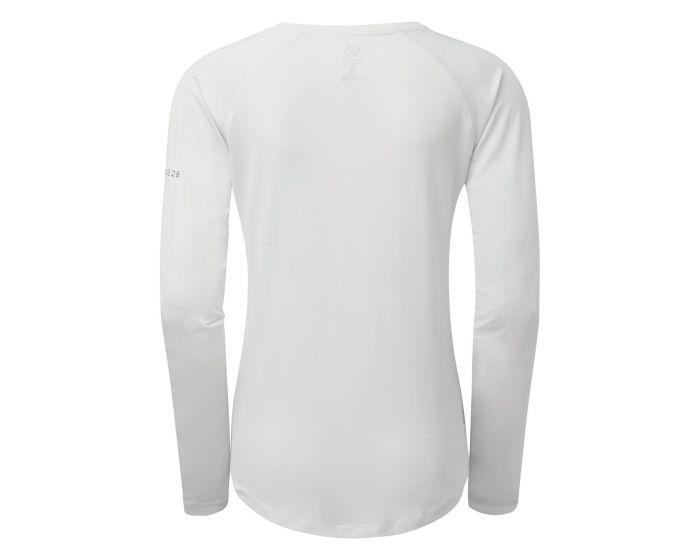 Dare 2b Damen Sport Langarm Shirt Discern DWT527 weiß