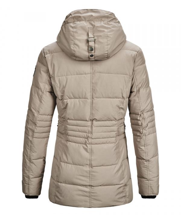 G.I.G.A. DX Damen Ventoso WMN Quilted Jacke Casual Funktionsjacke in Daunenoptik mit abzippbarer Kap
