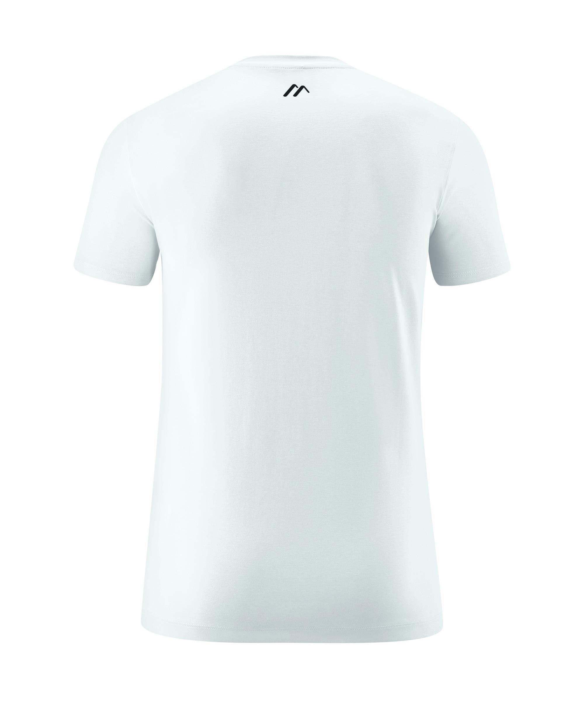 Maier Sports Hr. T-Shirt Karle 453001 weiß