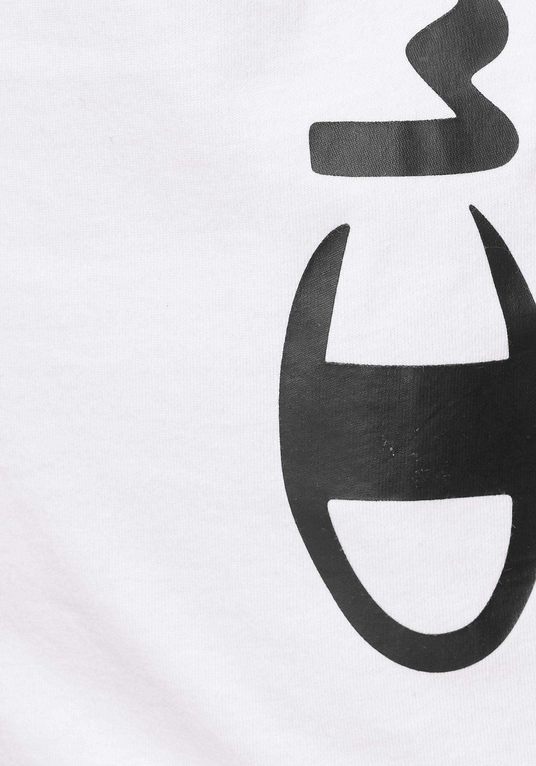 Champion Da. Crewneck T-Shirt 112148 weiß