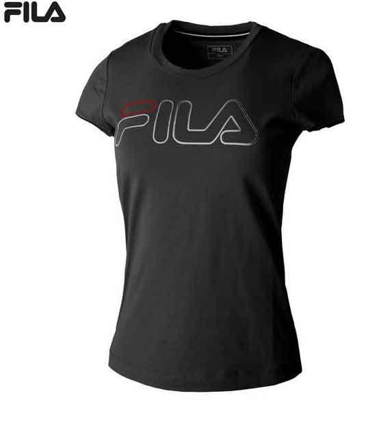 FILA Damen Zoe T-Shirt FBS192001L schwarz