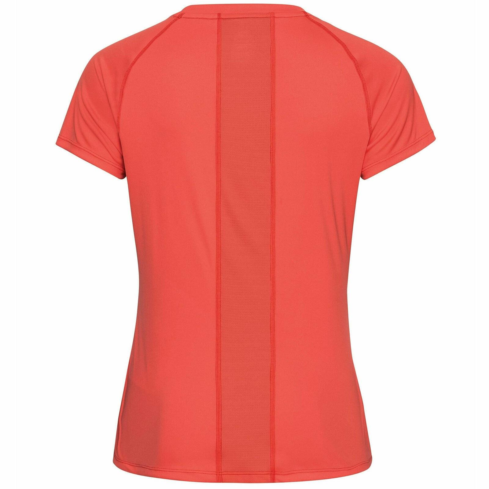 Odlo Damen CERAMICOOL ELEMENT T-Shirt 312651 hot coral