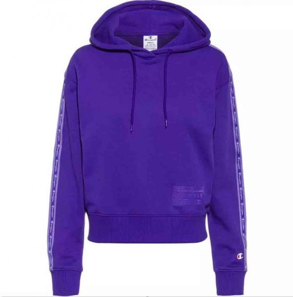 Champion Damen Hooded Sweatshirt S21 114066 lila