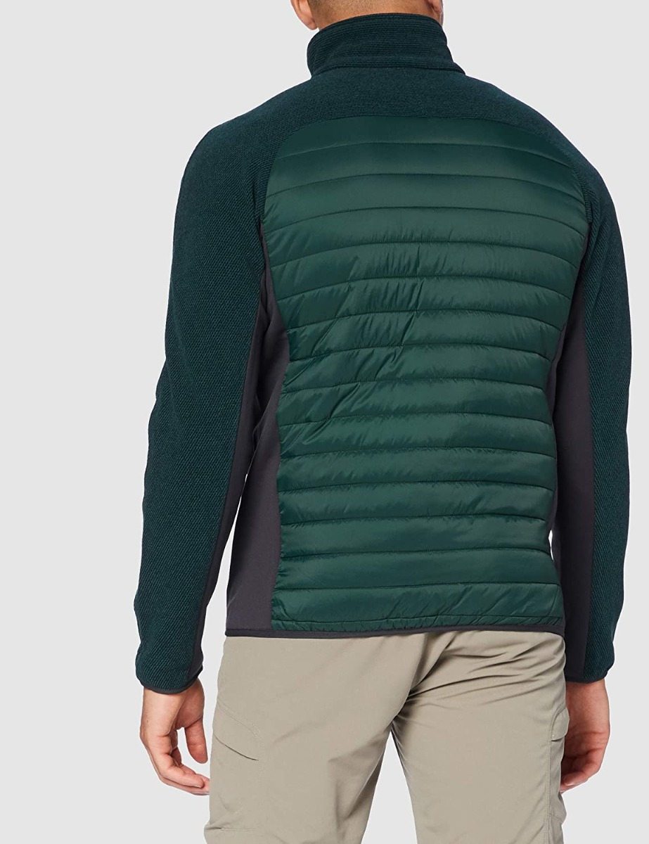 CMP Herren Hybrid Jacke Knit Tech 30H1677 oliv