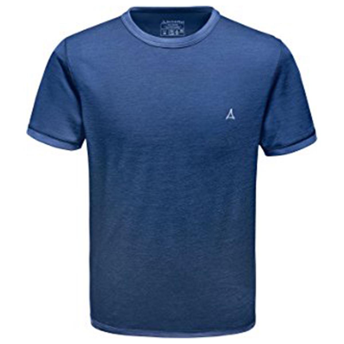Schöffel Merino Sport Shirt Herren 1/2 Arm blau