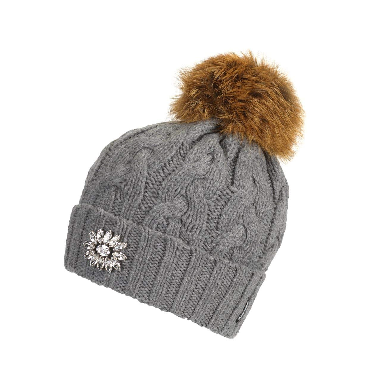 Eisbär Damen Mütze Grace Fur Crystal Fb.006