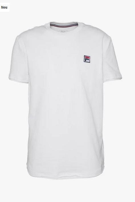 FILA Hr. T-Shirt Jonas FBM201010 weiß