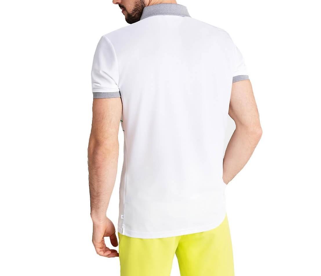 Calvin Klein Herren Poloshirt CKMS20351 grau-lime
