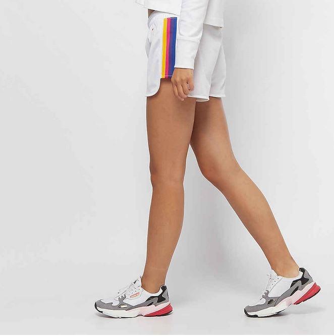 Champion Da. Rainbow Shorts 111332 weiß