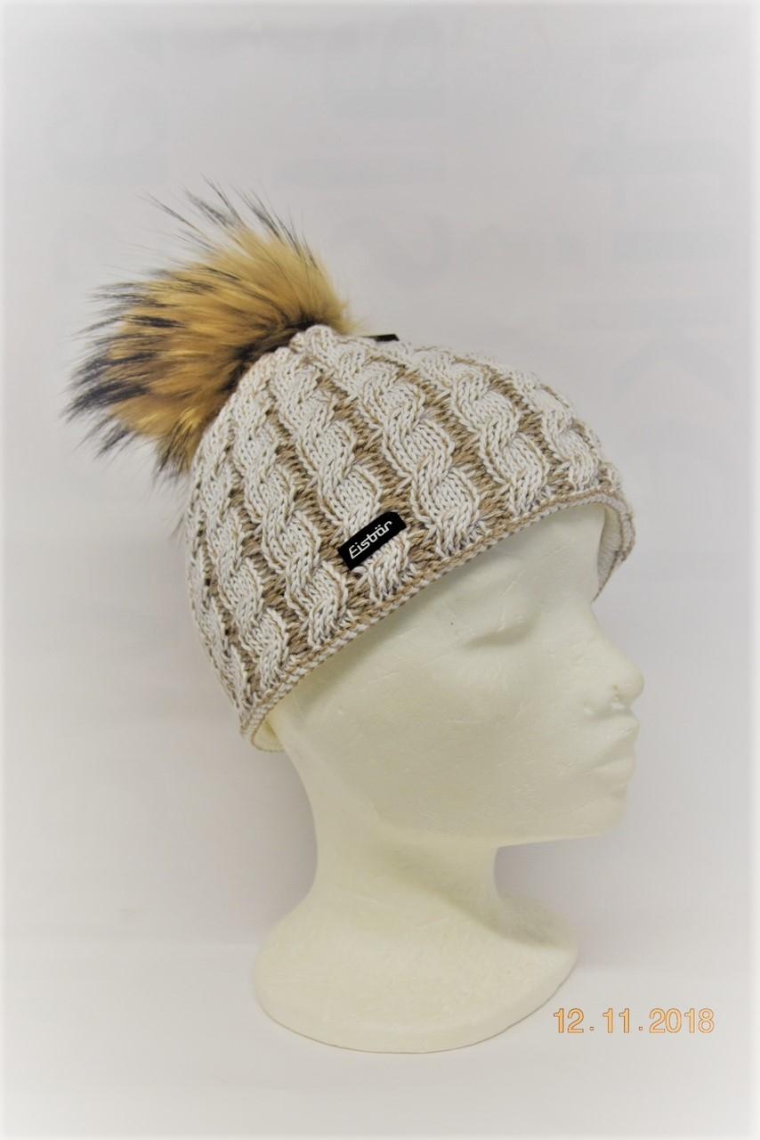 Eisbär Damen Mütze Sabrina Fur 30367 Fb.100