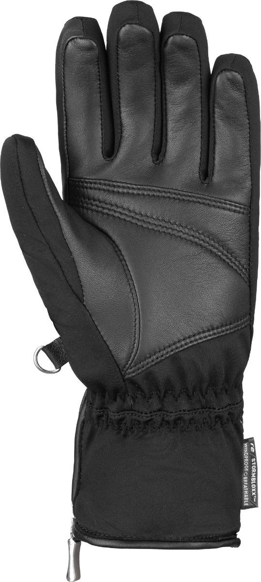 Reusch Lore Stormbloxx™ Skihandschuh 6031102 schwarz silber