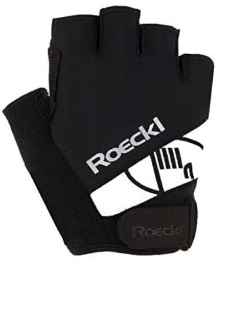 Roeckl Herren Nizza Handschuhe 3106 schwarz weiß Gr.7,5