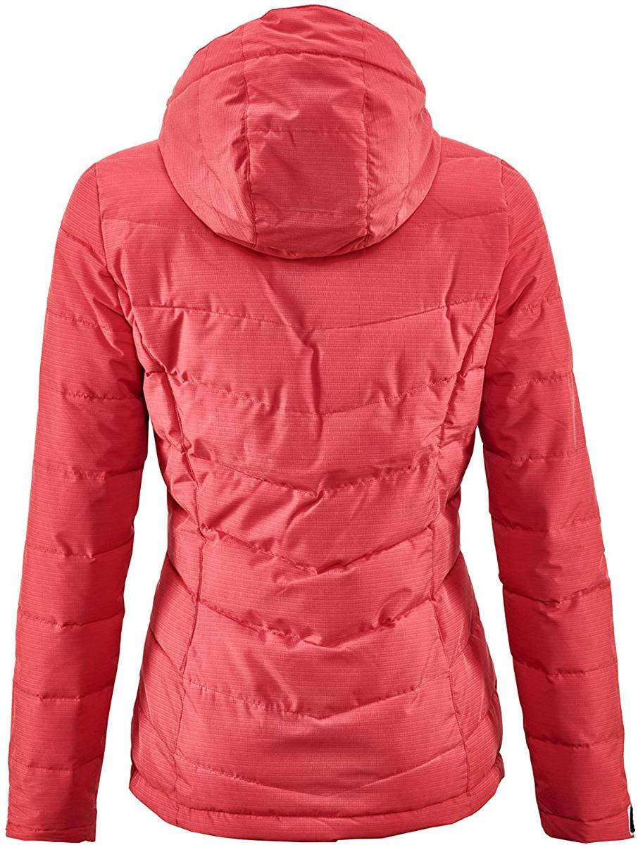 Killtec Damen Skane Quilted Jacke in Daunenoptik mit abzippbarer Kapuze 35615 rot
