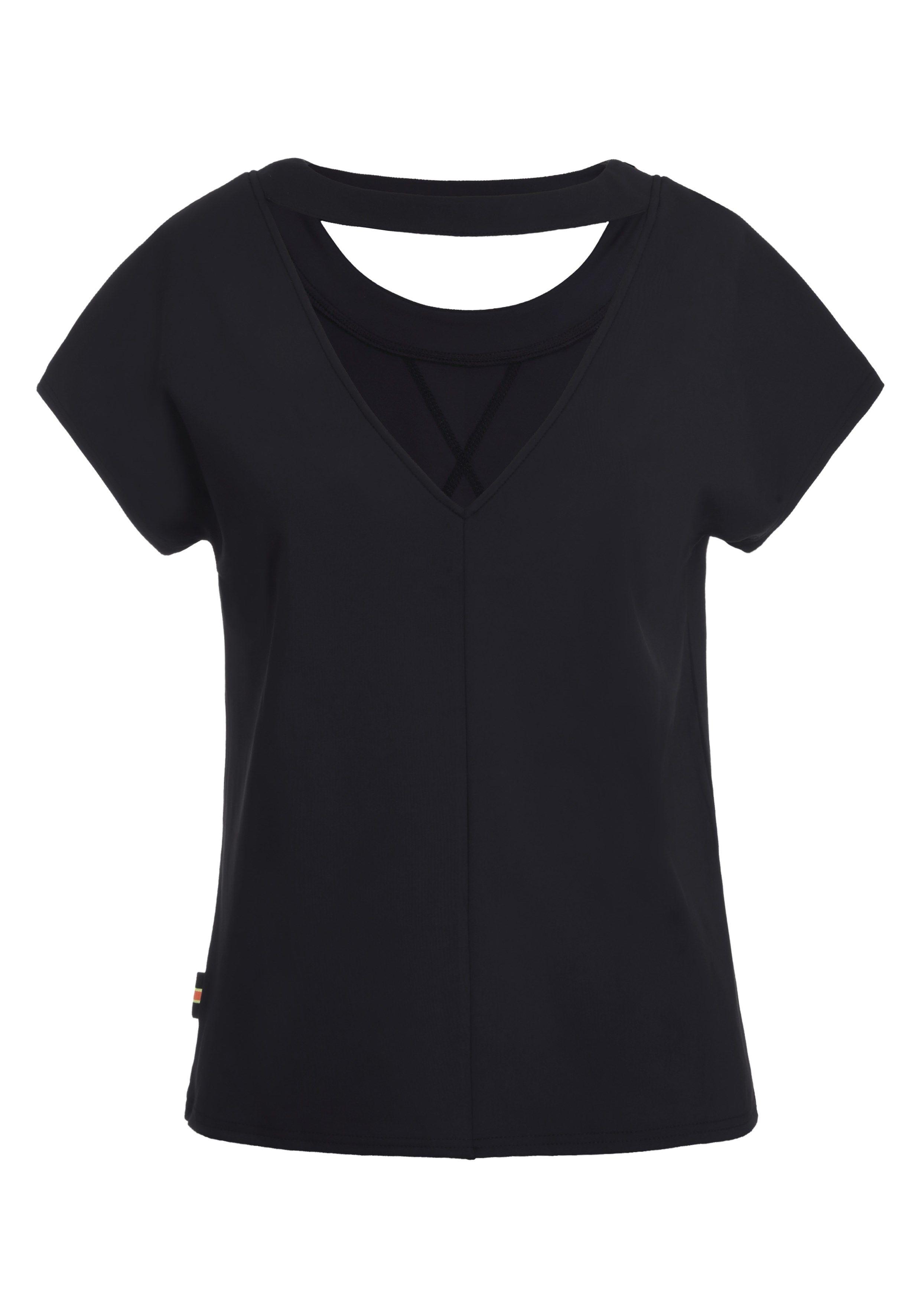 Icepeak Damen T-Shirt ELMIREH 554653 schwarz
