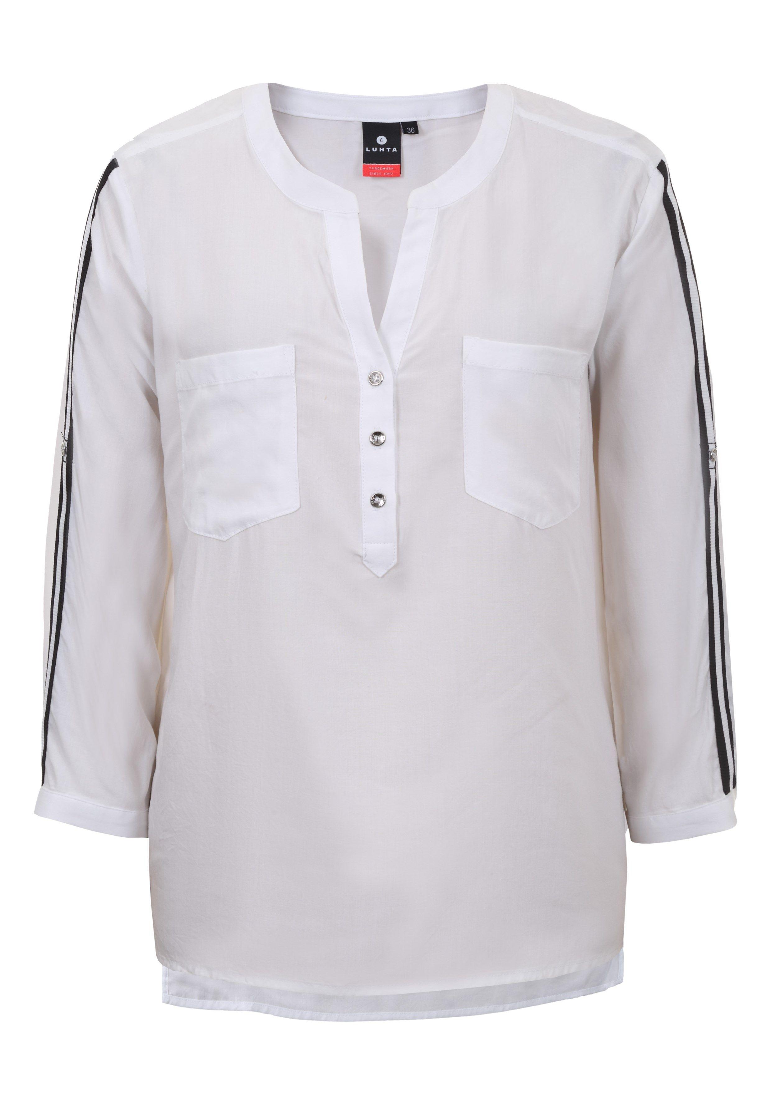 Luhta Damen Bluse ATTALA 535258 weiß