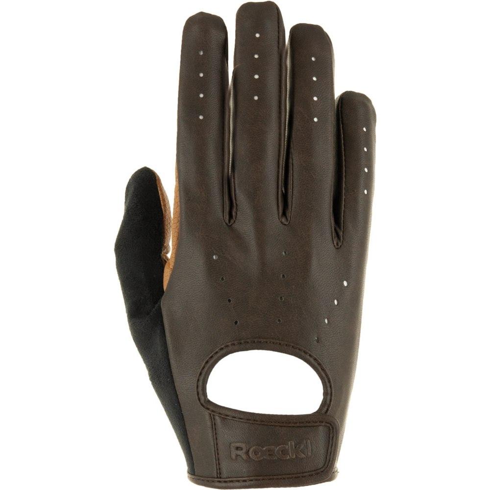 Roeckl Handschuhe Odense 3107 mokka Gr.7,5
