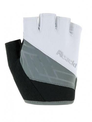 Roeckl Handschuhe Budapest 3101 schwarz-weiß Gr.7,5