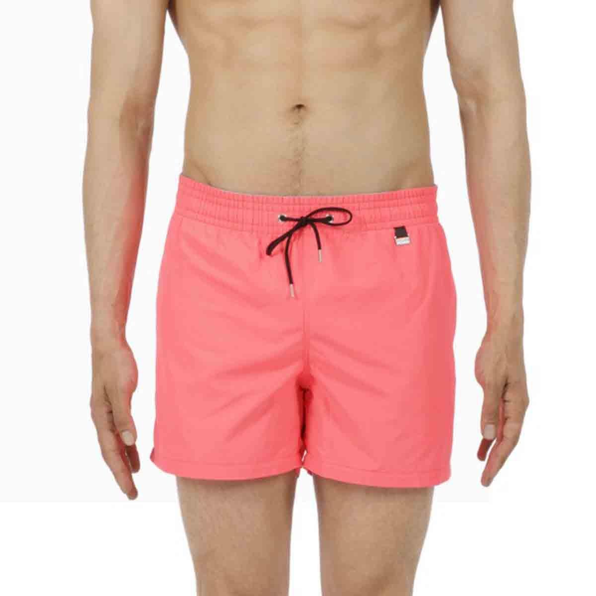 HOM Herren Badeshorts Splash pink