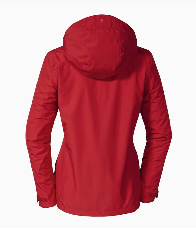 Schöffel Damen 3in1 Jacket Tignes1 112477 rot