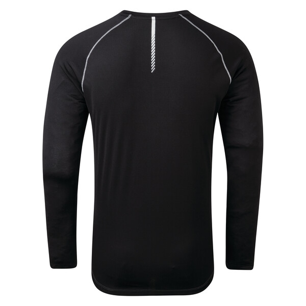Dare 2b Herren REALIZE Funktions Longsleeve Shirt DMT527 schwarz grau