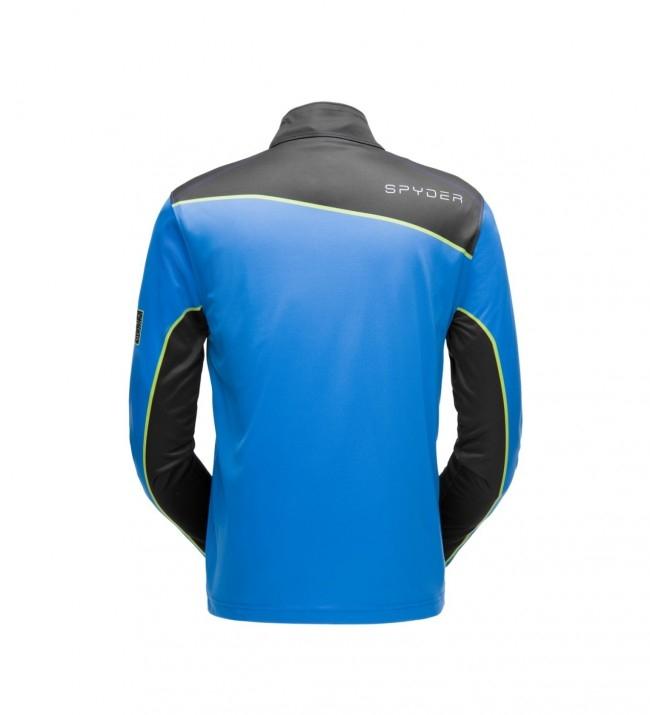 Spyder Hr. Funktionsshirt T-Neck Wengen 181352 blau