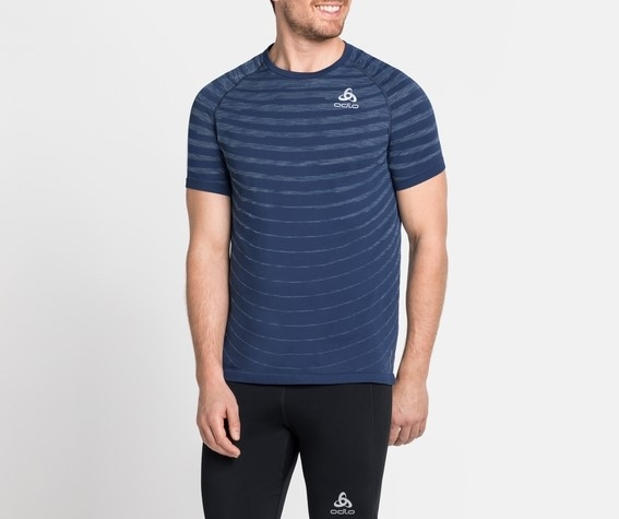 Odlo Herren BLACKCOMB PRO T-Shirt 313152 estate blue-space dye
