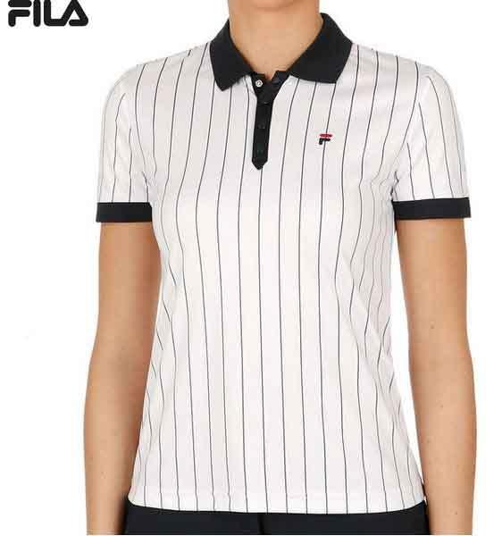 FILA Damen Poloshirt Pauline Jersey FBL171012 weiß
