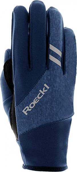 Roeckl Handschuh Gusev Jr. 3505-843 blau Gr.5