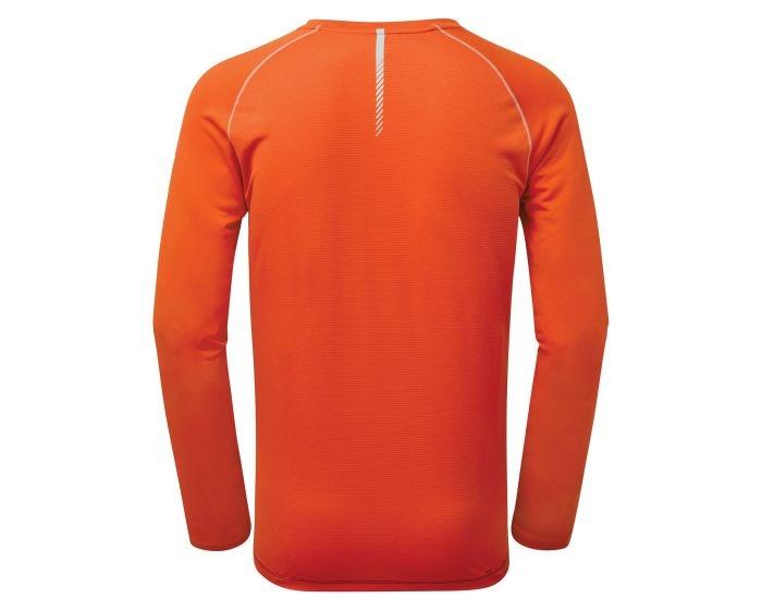 Dare 2b Herren REALIZE Funktions Longsleeve Shirt DMT527 schwarz orange