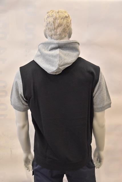 Champion Herren Hooded T-shirt 214141 schwarz