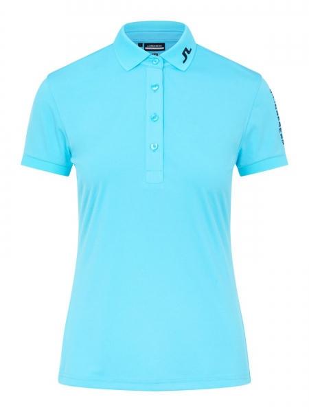 J.Lindeberg Damen Tour Tech Poloshirt GWJT03509 beach blue