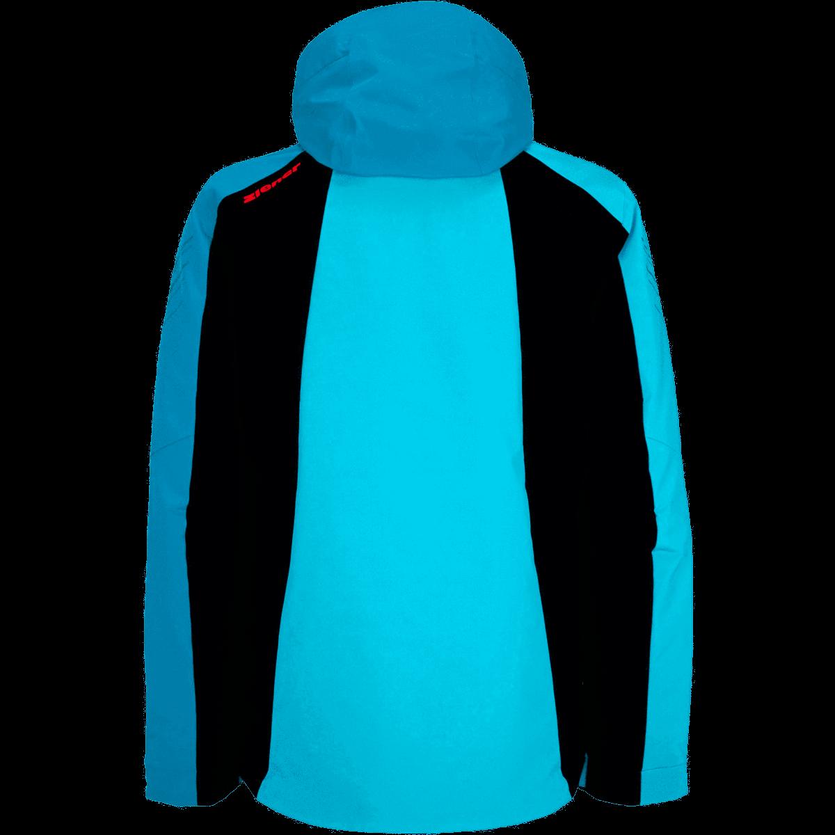 Ziener Herren Tebulo Ski Snowboard-Jacke 204201 türkis