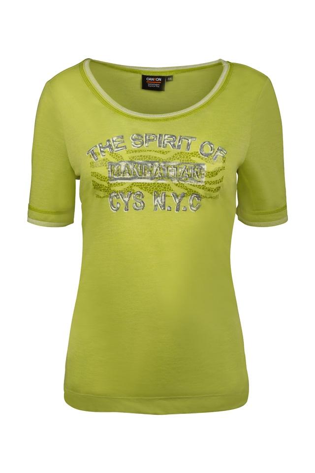 CANYON Da. T-Shirt 947001 grün
