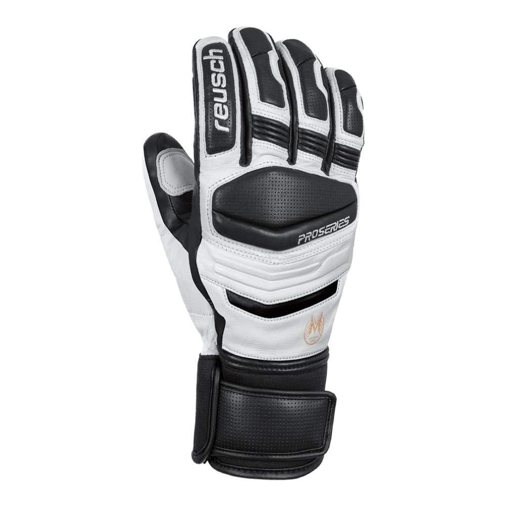 Reusch Master Pro Herren Primaloft Handschuhe schwarz-weiß