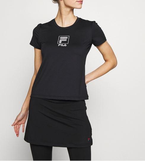 FILA Damen Angie T-Shirt Jersey FBS201011L schwarz