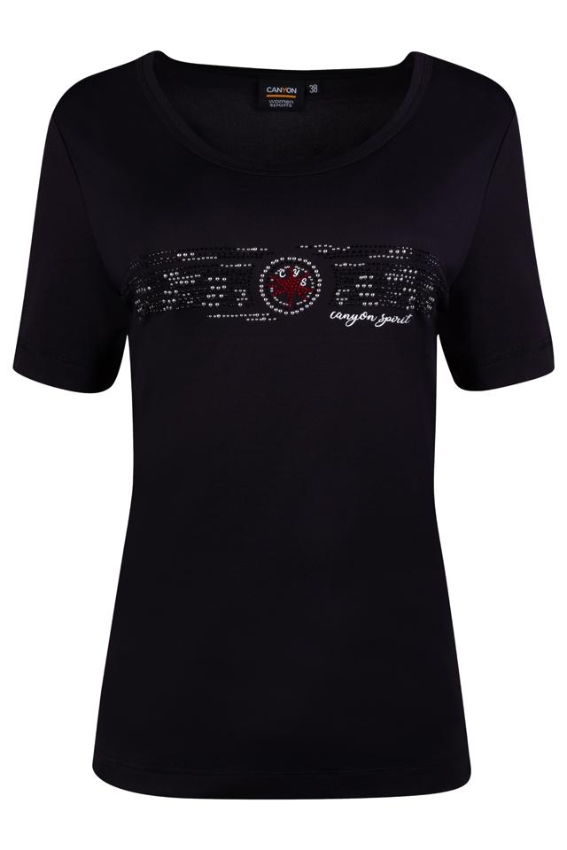 CANYON Da. T-Shirt 957009 schwarz