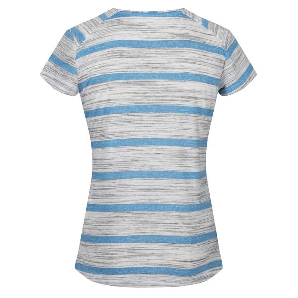 Regatta Damen LIMONITE IV leichtes Stretch T-Shirt RWT203 blue aster
