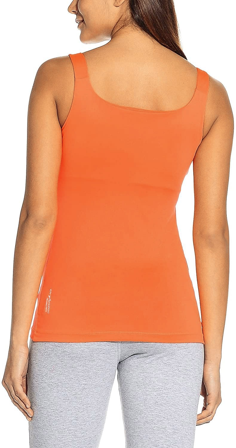 CMP Damen Stretch Jersey Double Tanktop 3T55336 orange