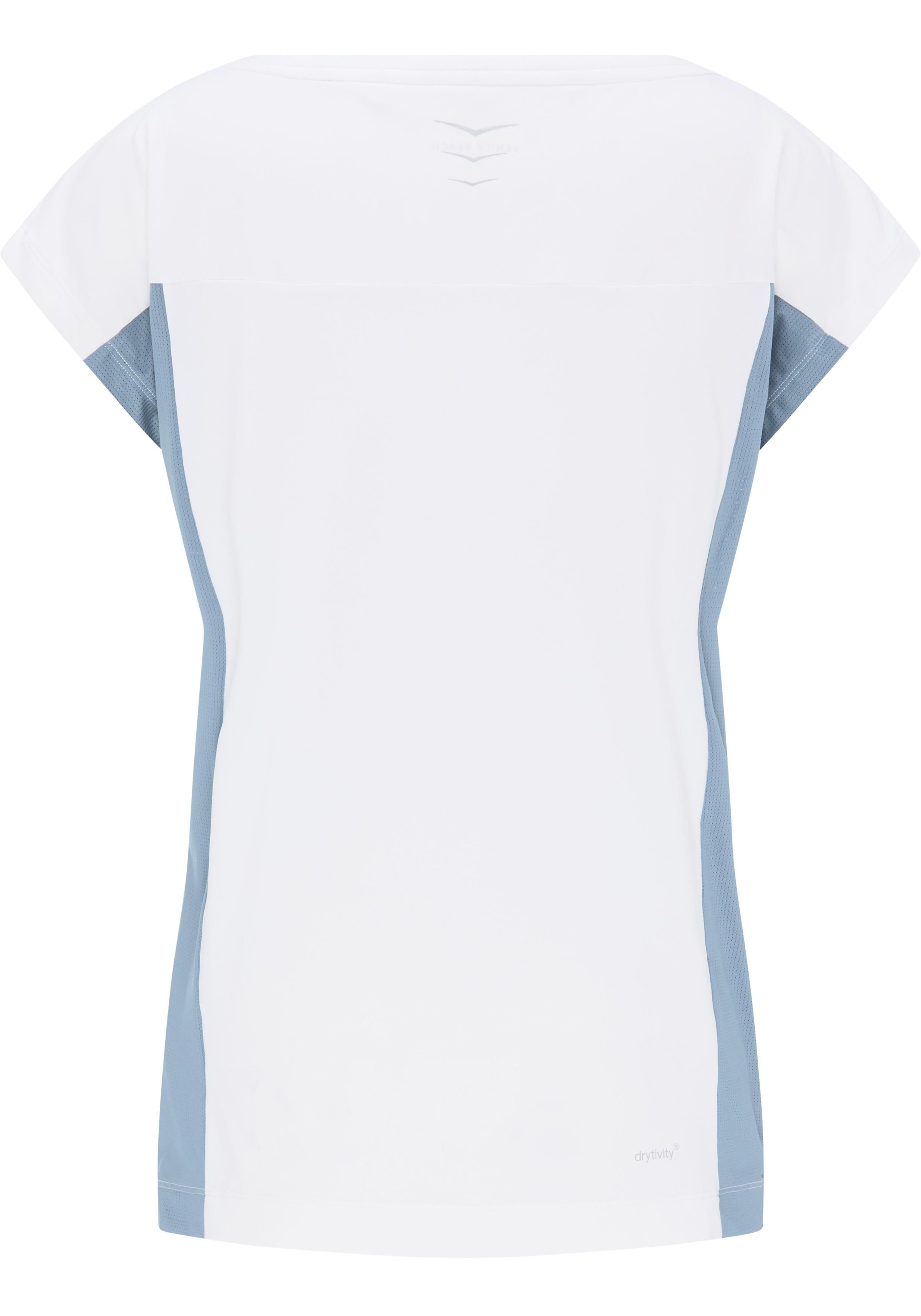 Venice Bach Damen Cadence DL01 T-Shirt 15815 weiß-blaugrau