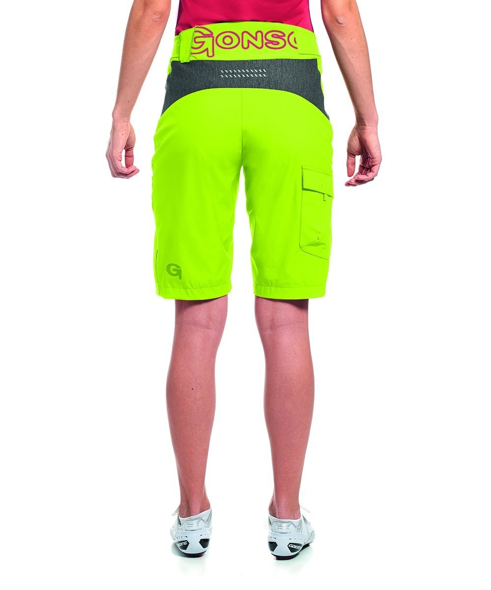 Gonso Damen Sodal Da-Bike-Shorts grün