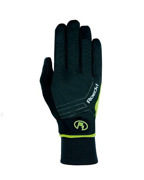 Roeckl Bike Handschuh Raab 3103-839 schwarz gelb Gr.8,5