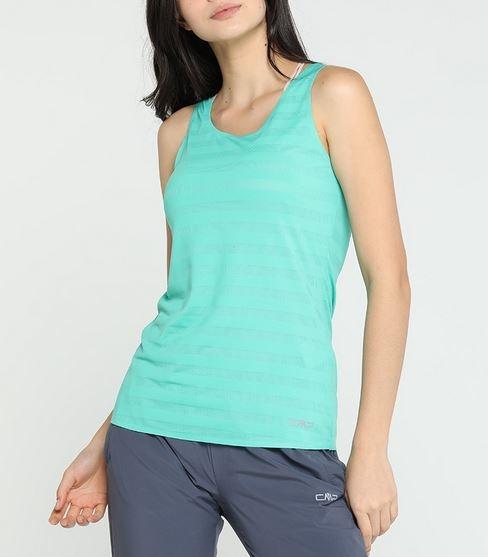 CMP Damen Top T-Shirt 39C7086 grün